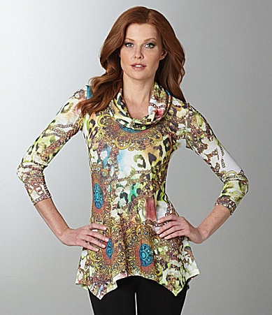 IQ Paris Chain-Print Tunic