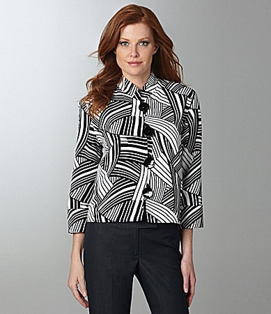 Caroline Rose Piano Key Print Jacket