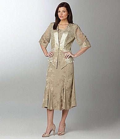 Violet Kay Woman Floral Jacket & Dress