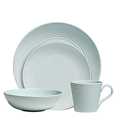 Gordon Ramsay by Royal Doulton Maze Blue Dinnerware