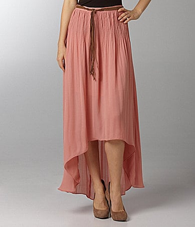 Sanctuary Clothing Leotie Crinkle Maxi Skirt