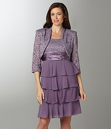 R & M Richards Bolero Jacket Dress