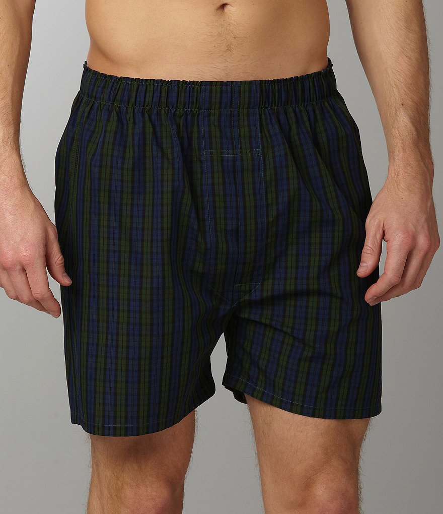 Roundtree & Yorke 2-Pack Full Cut Boxers