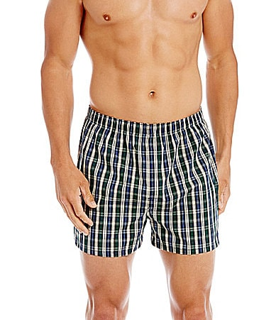 Roundtree & Yorke 2Pk Tapered Boxer