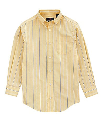 Class Club 2T-7 Striped Poplin Shirt