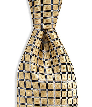Cremieux Diamond Patterned Tie
