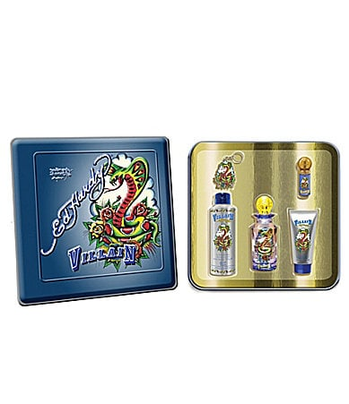 Ed Hardy Villain for Men Eau de Toilette Gift Set