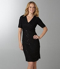 plus size dresses with quick sleeves