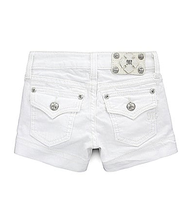 Miss Me Girls 7-16 Rhinestone Shorts