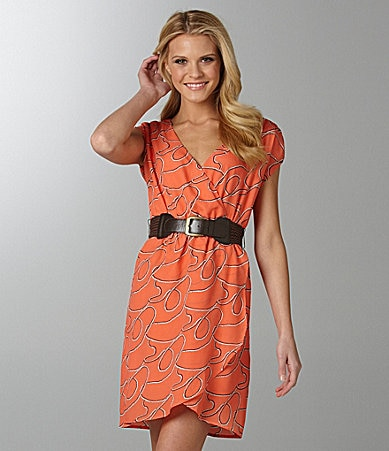 Jodi Kristopher Belted Dress