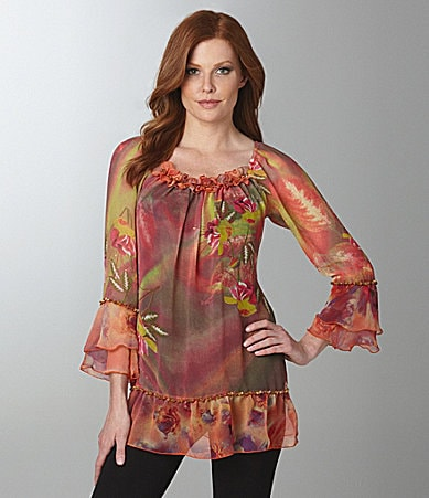 Faith Lola Chiffon Tunic