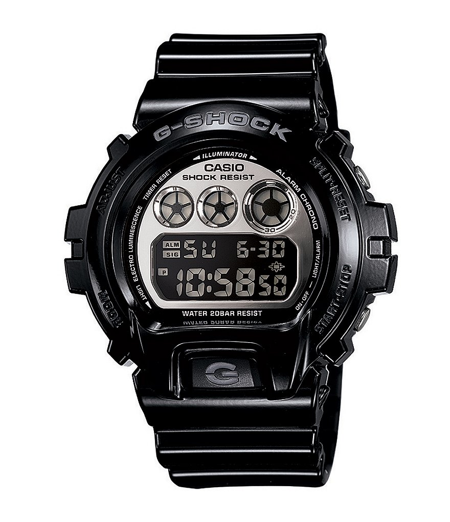 G-Shock Black Mirror Metallic Digital Watch