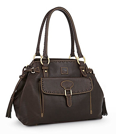 Dooney & Bourke Florentine Medium Pocket Tassel Bag