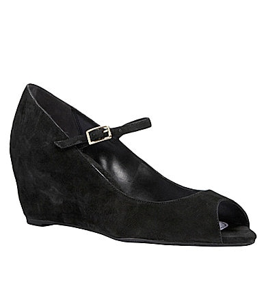Delman Vanna Mary Jane Wedges