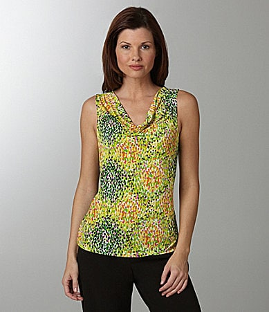 Mix by Tahari ASL Printed Top