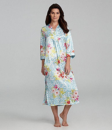 Oscar de la Renta Blooming Jungle Caftan
