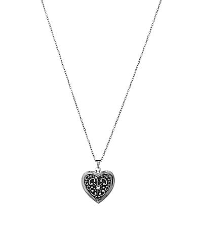 Tivoli Heart Locket Pendant Necklace