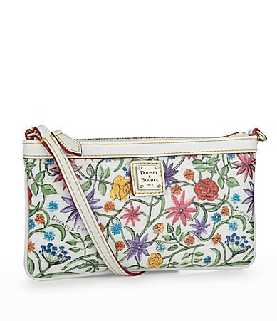 Dooney & Bourke Large Slim Floral Wristlet