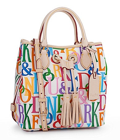 Dooney & Bourke Retro Small Handle Drawstring Tote