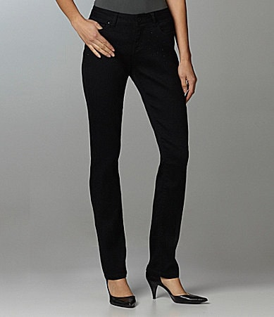 Liverpool Jeans Company Embellished Sadie Straight Leg Jeans