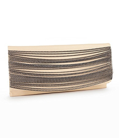 Kate Landry Chain Flap Clutch