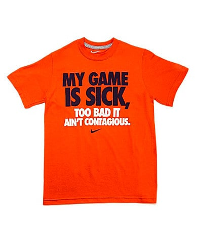 Nike 8-20 My Game Is Sick Screenprint Tee