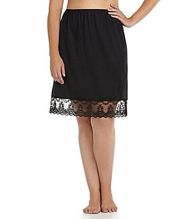 Cabernet Woman Chopper Half Lace Slip