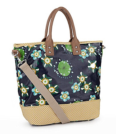 Kate Landry Coated Canvas Owl Convertible Tote