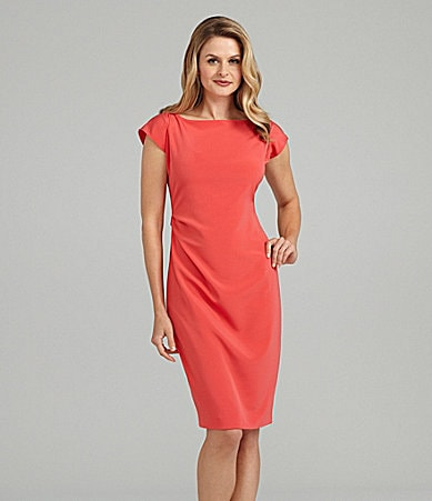 Elie Tahari Adella Crepe Dress