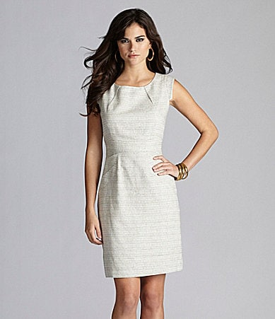 Gianni Bini Hilda Linen-Blend Dress
