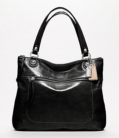 COACH POPPY LEATHER GLAM