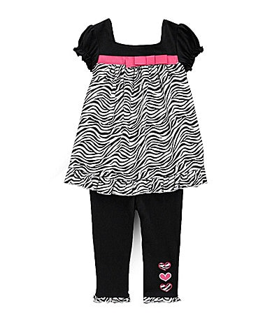 Starting Out Infant Zebra Top & Pants Set