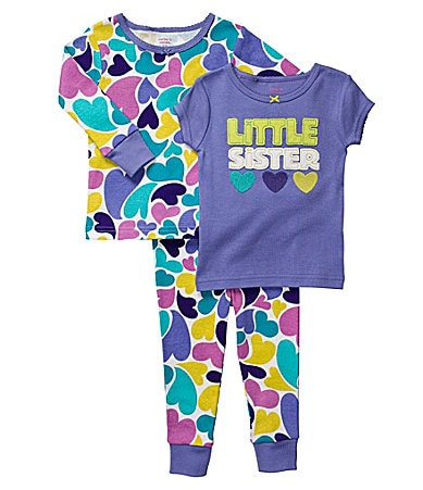 Carter�s Infant Little Sister 3-Piece Pajama Set