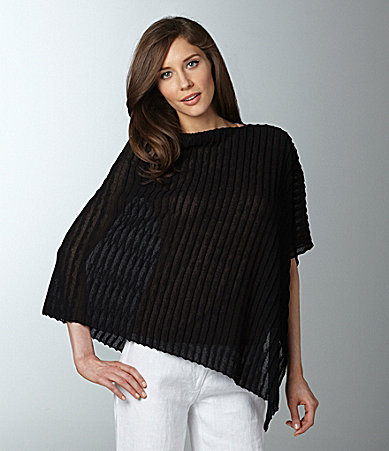 Eileen Fisher Boatneck Poncho