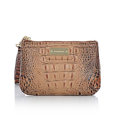 Brahmin Toasted Almond Collection Betty Wristlet