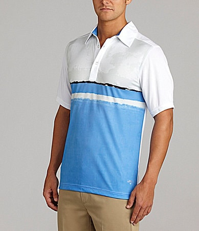 Callaway Sublimation Colorblock Polo Shirt