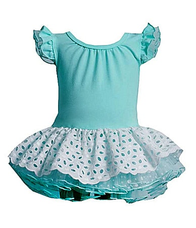 Bonnie Baby Newborn Drop-Waist Dress