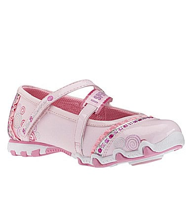 Skechers Girls Bella Ballerina-Prima Mary Jane Flats