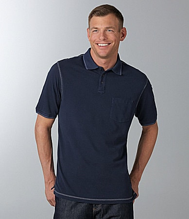 Roundtree & Yorke Casuals Solid Polo Shirt