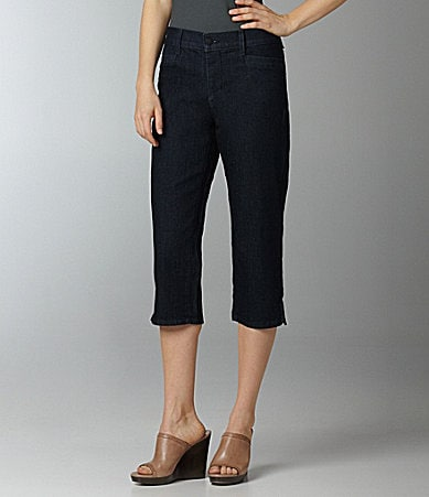 NYDJ Plus Woman Joan Cropped Pants