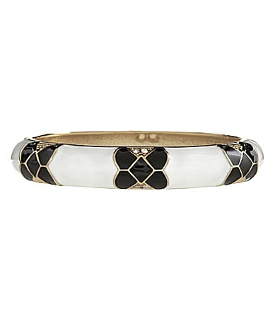 Anna & Ava Honeycomb Bangle Bracelet