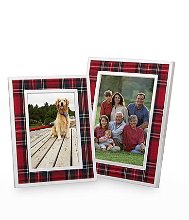 Lauren Ralph Lauren Tartan Plaid Frame Collection