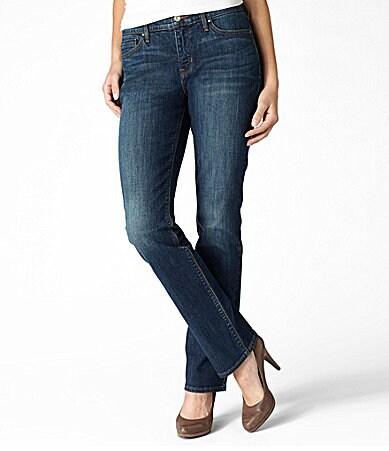 Levi´s Petites 525 Straight-Leg Jeans