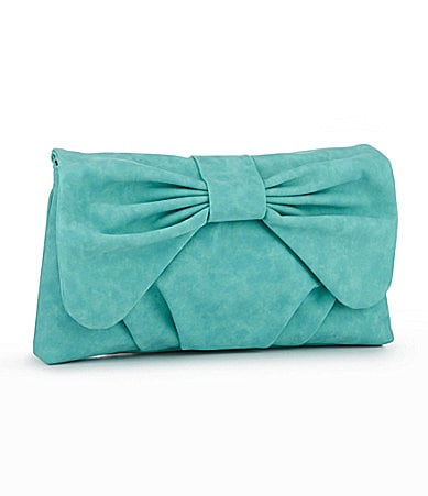 Kate Landry Bow Flap Clutch