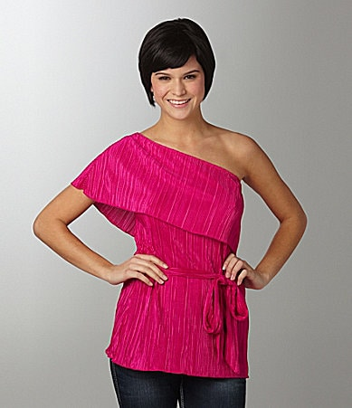Soulmates One-Shoulder Top