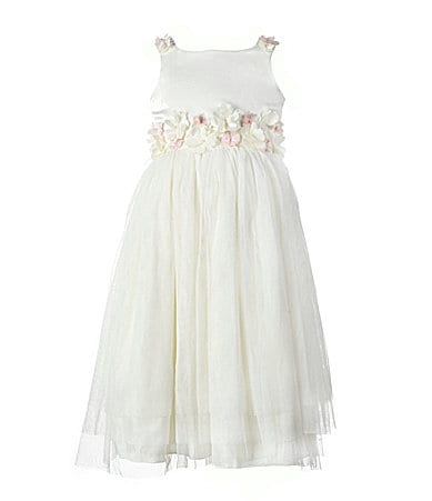 Jayne Copeland 2-6X Satin Tulle Dress