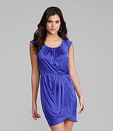 Gianni Bini Lola Scoopneck Elastic-Waist Dress