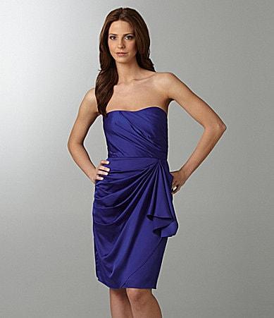 Max and Cleo Strapless Dress
