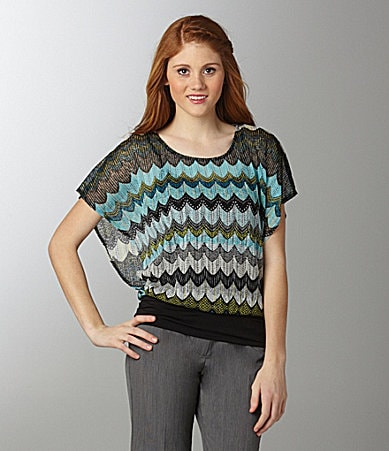 Soulmates Striped Dolman Top