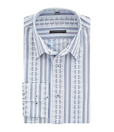 Visconti Jacquard Striped Sportshirt